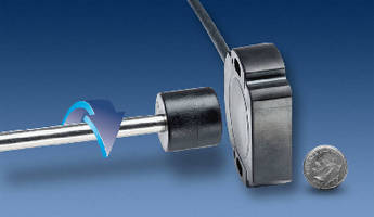 Touchless Rotary Angle Sensors feature CANopen output.