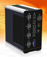 DIN Rail Fanless Embedded PC serves remote applications.