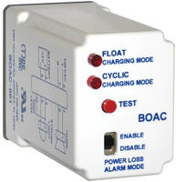 Backup Battery Charger manages power for control panel alarms.