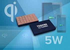 Power Receiver IC supports wireless quick charging.