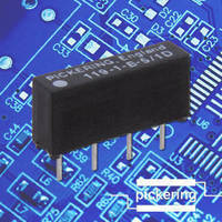 Form B Micro-SIL Reed Relays serve high-voltage applications.