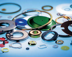 Flat Washers come in diverse sizes and materials.