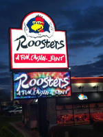 Electro-Matic Visual Gives Roosters Wings Something to Crow About with New Full Color LED Display