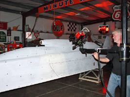 3D Digitizing a Salt Flat Racer for Speed Performance Adjustments during Speed Week