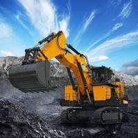 Hydraulic Excavator features fully remote controlled operation.