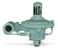 Natural Gas Pressure Reducing Regulator has high-flow design.