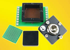 Epoxy Mount BGA Socket does not require soldering to PCB.