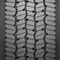 Drive Tire Retread offers maximized tread life, scrub resistance.