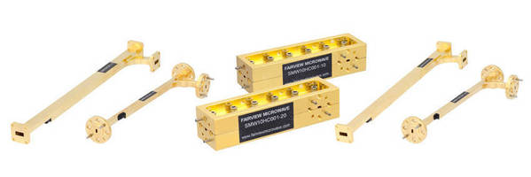 Millimeter Waveguide Directional Couplers operate up to 110 GHz.