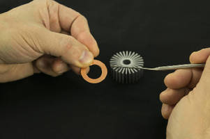Non-Drip Epoxy Paste cures optically clear.