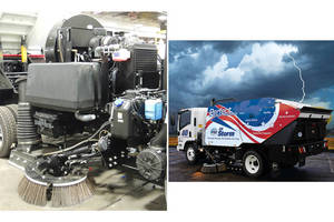 Mastry Delivers Complete Engine Package for Street Sweeper