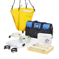 Leak Diverter Kits contain roofs and pipe leaks.