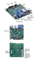 Nano-ITX Motherboard offers wide temperature range, quad-core CPU.