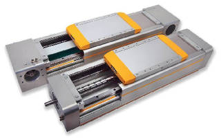 Rodless Linear Actuators offer load capacity up to 26,600 N.