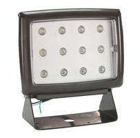 LED Wall Pack Light (40 W) has 30 ft cord and general-use plug.