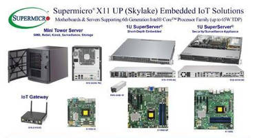 Motherboards/Servers/Gateway support 6th Gen Intel Core CPU.