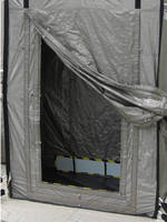 Newly Patented Single Door Design for Portable RF Shielded Room