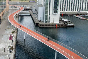 Bridge Deck/Rail Platform offers high-traffic area wear surface.