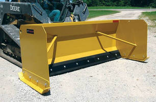 Snow Pushers enhance loader/tractor/skid-steer capabilities.