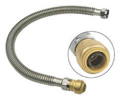 Water Heater Connectors eliminate soldering and glue.