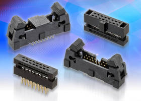IDC 1.27 mm Pitch Connectors offer facilitated placement.