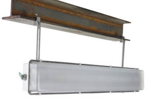 I-Beam Mounted LED Light Fixture operates in hazardous locations.