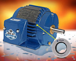 Cooling Tower Motors include bearing current protection.