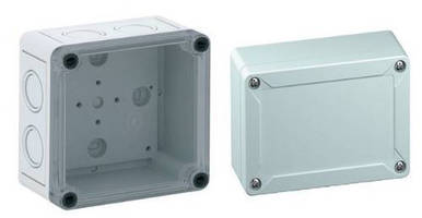 Plastic Electronics Enclosures withstand industrial environments.