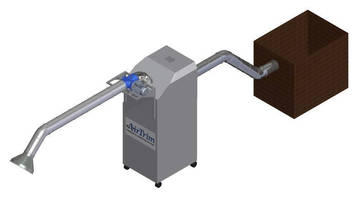 Portable Trim Collection Unit automates matrix removal.
