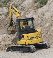 Hydraulic Excavators eliminate need for diesel exhaust fluid.