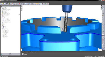 CAM Software supports high-efficiency roughing.