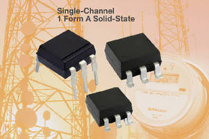 Hybrid Solid-State Relays provide noiseless switching.