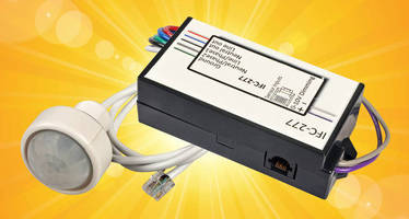 Stand-Alone Lighting Fixture Controller conserves energy.