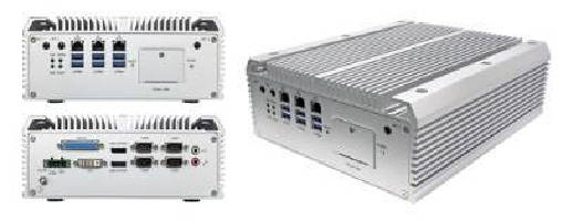 Fanless Box Computer offers host of expansion options.