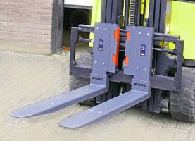 Wireless Scale Forks weigh low pallets.