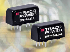 DC-DC Converters deliver 9 W of power in SIP-8 package.