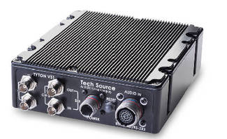 Video Encoder provides dual HD-SDI inputs.