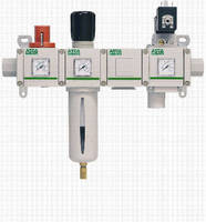 Filter-Regulator-Lubricators offer extended temperature range.