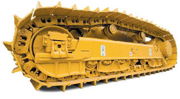Crawler Dozer offers rotating bushing undercarriage option.