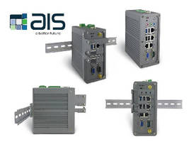 DIN-Rail Mounted PCs offer IECEx, ATEX, and UL certifications.