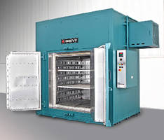 Cabinet Oven operates up to 1,050°F.