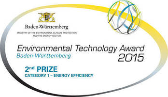 Rehm Thermal Systems Wins the Baden-Wuerttemberg 2015 Environmental Technology Award
