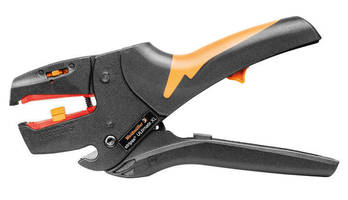 Self-Adjusting Wire Stripper handles large, insulated cables.