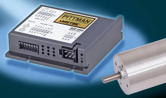 Servo Motor Controllers work with brushless, brushed DC motors.