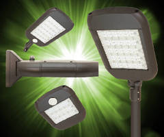 Outdoor LED Luminaire features universal, scalable design.