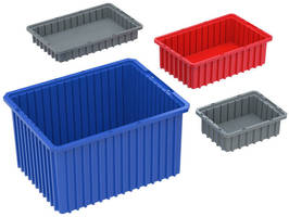 Dividable Grid Containers provide applicational versatility.