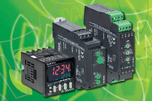 Timer Relays provide multifunction control.