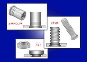 Uniquely Designed Variations of PEM® Self-Clinching Threaded Nuts, Studs, and Standoffs Allow for Close-to-Edge Placement Where Space for Fasteners is Limited