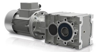 Bevel/Helical Gearboxes employ 2-stage design.