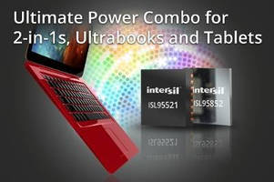 PMIC and Charger support 2-in-1s, ultrabooks, and tablets.